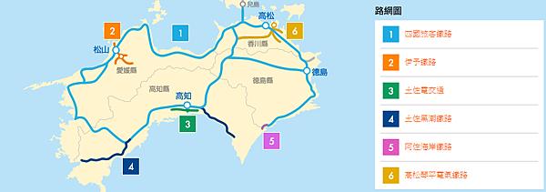 JR四國周遊卷