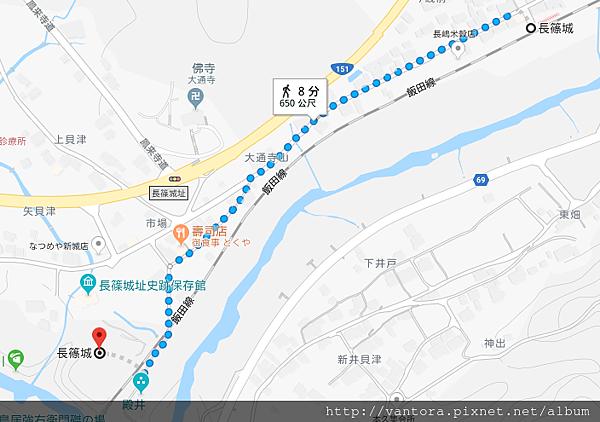 長篠城 1