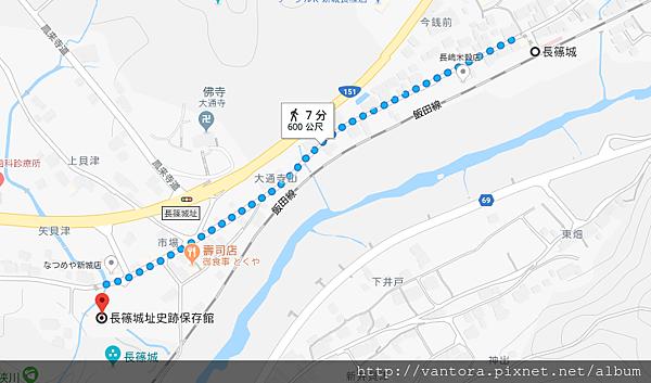 長篠城 2