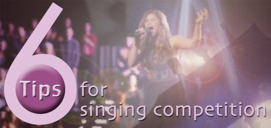 給歌唱選手的建議 cover