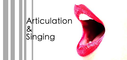 咬字對於歌唱的影響