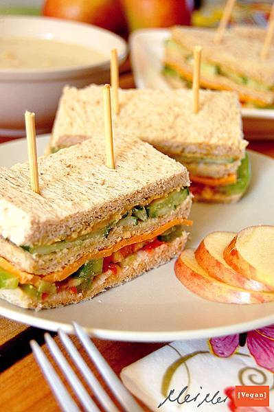 美式三明治「純素」