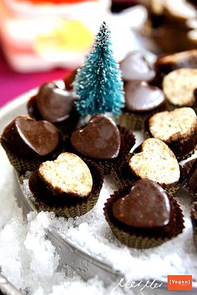 愛心生食巧克力