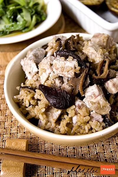 香菇芋頭炊飯