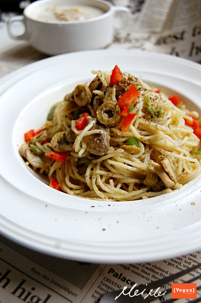 橄欖義大利天使麵