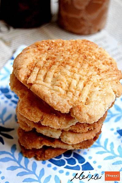 椰子手工餅乾「純素」