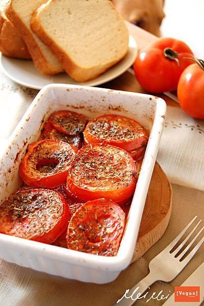 有機烤番茄
