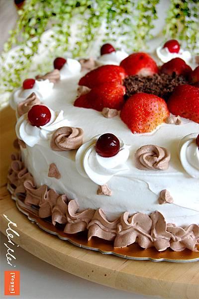 巧克力藍莓糕「純素」