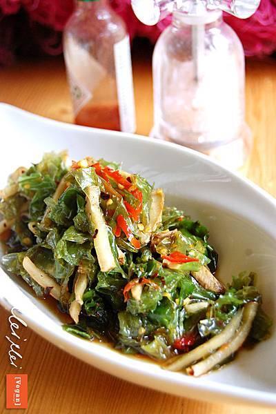 火辣辣涼拌海菜「純素」