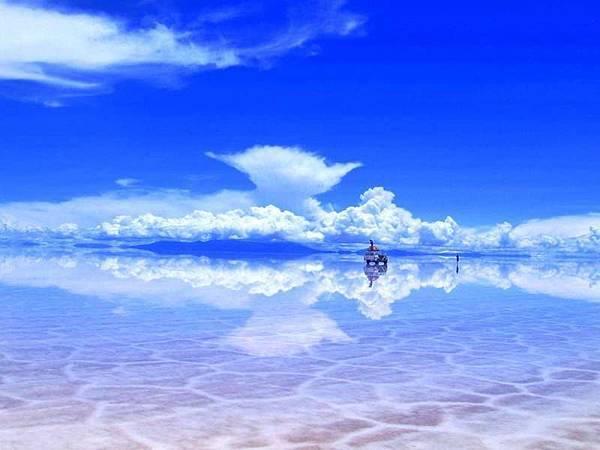 玻利維亞「天空之鏡」烏尤尼鹽湖
