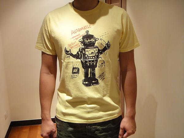 超級機器人Tee-男款