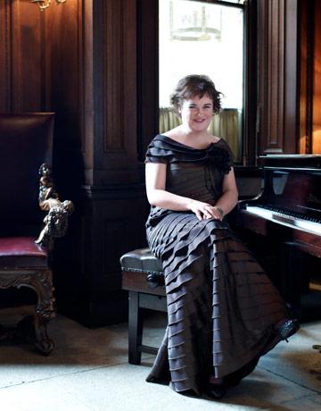 Susan Boyle piano