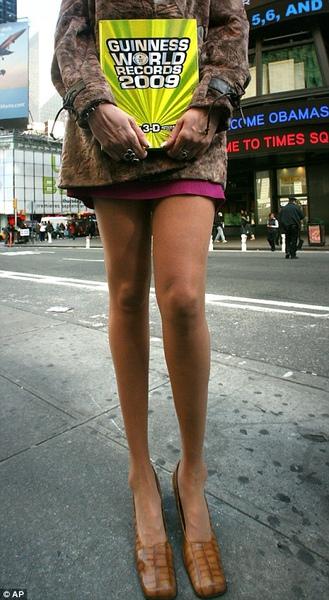 Tallest LEGS