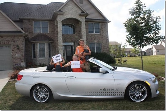 第一台因白金補助金而出現的BWM 恭喜 Mark&Marla 夫婦