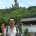 香港旅遊自由行背包客-與天壇大佛有緣