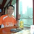 香港旅遊-香港維多利亞港遊輪