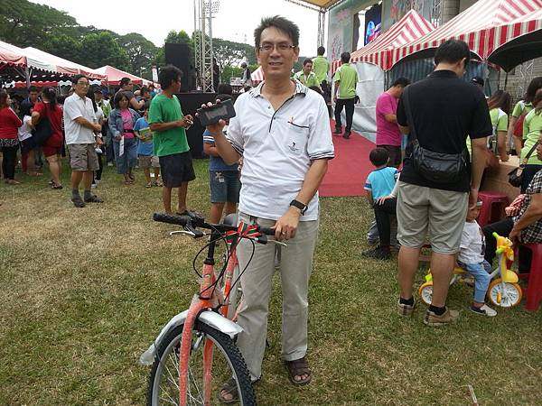恭喜 維瑪龍哥 抽中一台腳踏車