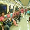 台北捷運車上