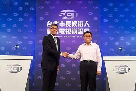 柯文哲戰勝連勝文之行銷策略,2014年台北市長選舉