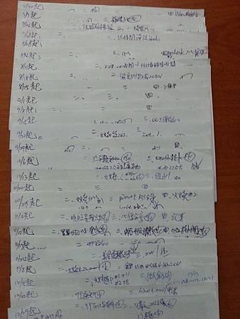 維瑪龍哥 每週工作記錄_2014年7月到12月