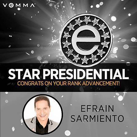 維瑪 Efrain 9個月晉升星級總裁