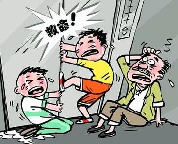 被困電梯如何自救?