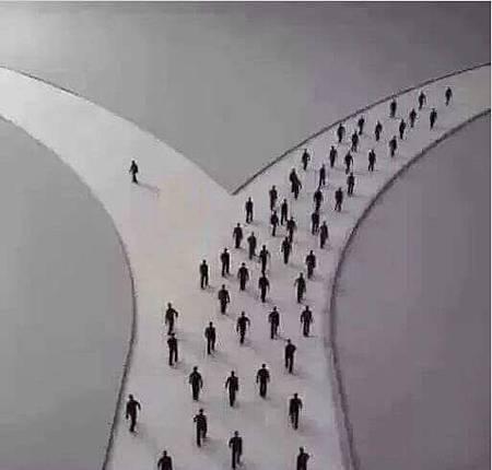 你走哪一條路?