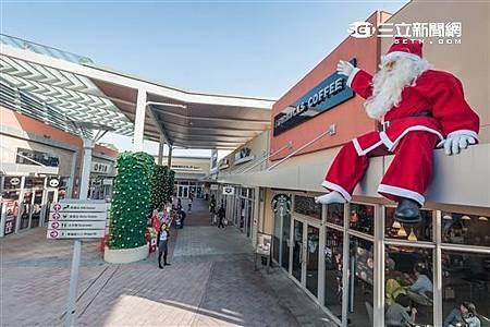 桃園下雪了?華泰名品城造雪打造桃園最大聖誕村