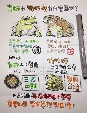 青蛙和癩蛤蟆有什麼區別?
