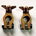 現貨 新加大 拖板車 純銅 電池頭 電瓶頭 電瓶接頭 電池銅頭 電樁頭 電瓶銅頭 一組只要235元