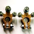 現貨 三孔 汽車 純銅 電池頭 電瓶頭 電瓶接頭 電池銅頭 電樁頭 電瓶銅頭 一組只要200元