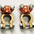 現貨 夾式50 純銅 汽車 電池頭 電瓶頭 電瓶接頭 電池銅頭 電樁頭 電瓶銅頭 一組只要170元