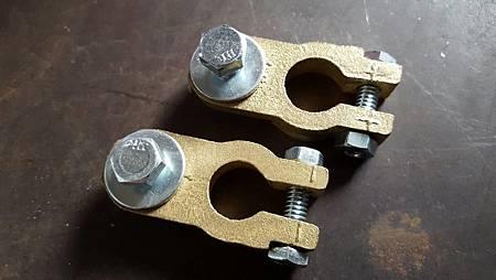 現貨 特大中牙 汽車 純銅 電池頭 電瓶頭 電瓶接頭 電池銅頭 電樁頭 電瓶銅頭 一組只要185元