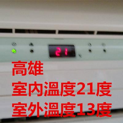 高雄室內溫度21度,室外溫度13度.jpg