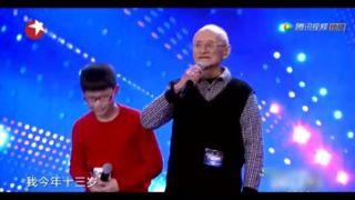 浙江13歲男孩 一開口全場尖叫,評委:太像鄧麗君了~♥.jpeg