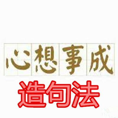 心想事成造句法.jpg