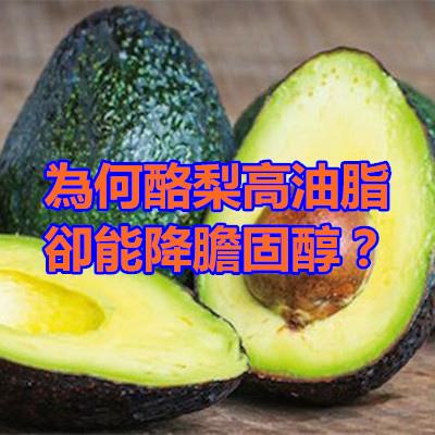 為何酪梨高油脂卻能降膽固醇?.jpg