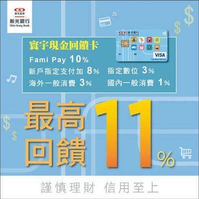 最高回饋11% 新光銀行 寰宇現金回饋卡 信用卡.jpg