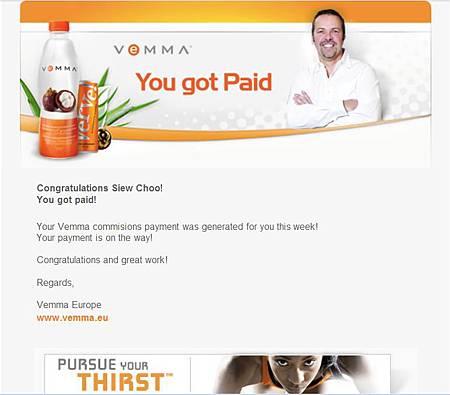 U got paid