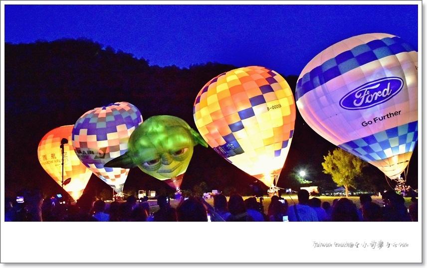 小司麥-熱氣球光雕