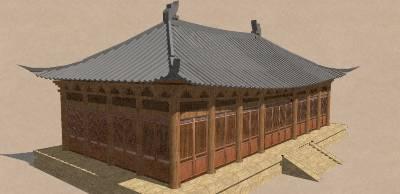 宋式廡殿建築