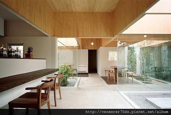 TABLE HAT 咖啡廳 BY HIROYUKI SHINOZAKI ARCHITECTS