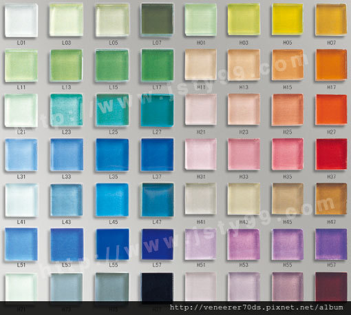 水晶玻璃马赛克(LH系列)