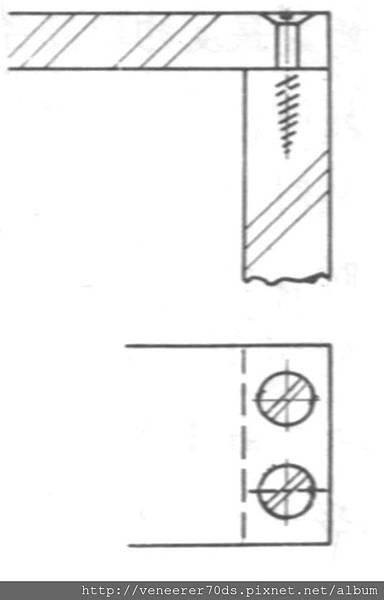 木螺釘接合