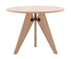 Guéridon Table 木桌
