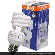 23W 螺旋省電燈泡