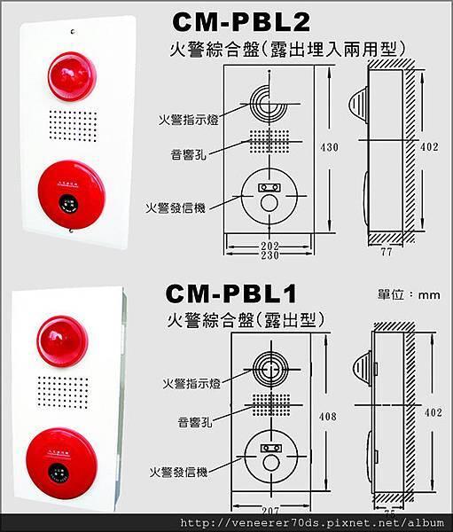 PBL火警綜合盤