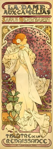 《茶花女》, 1896年.JPG