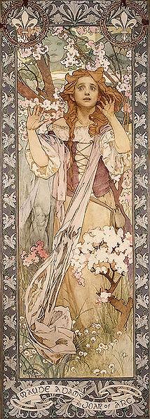 《聖女貞德》,1909年.jpg