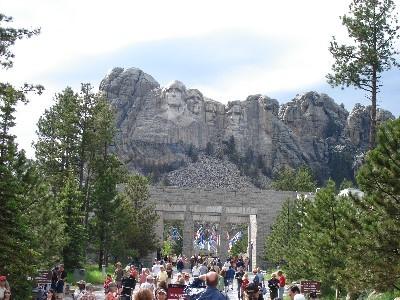 Mt. Rushmore further